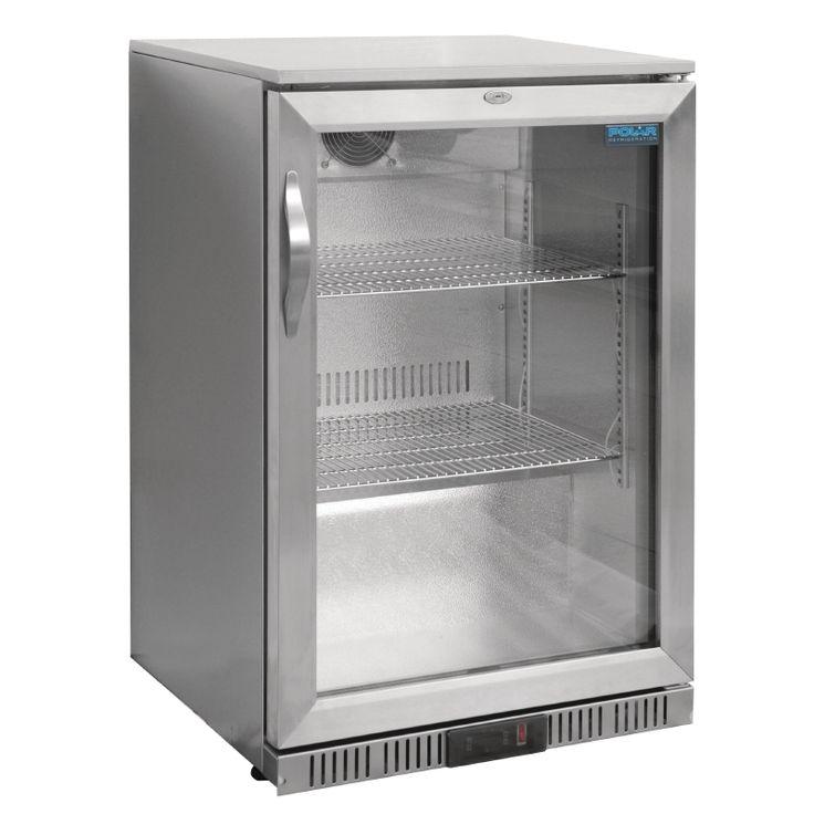 GL007-138 Ltr Single Door Bottle Cooler (Stainless Steel)