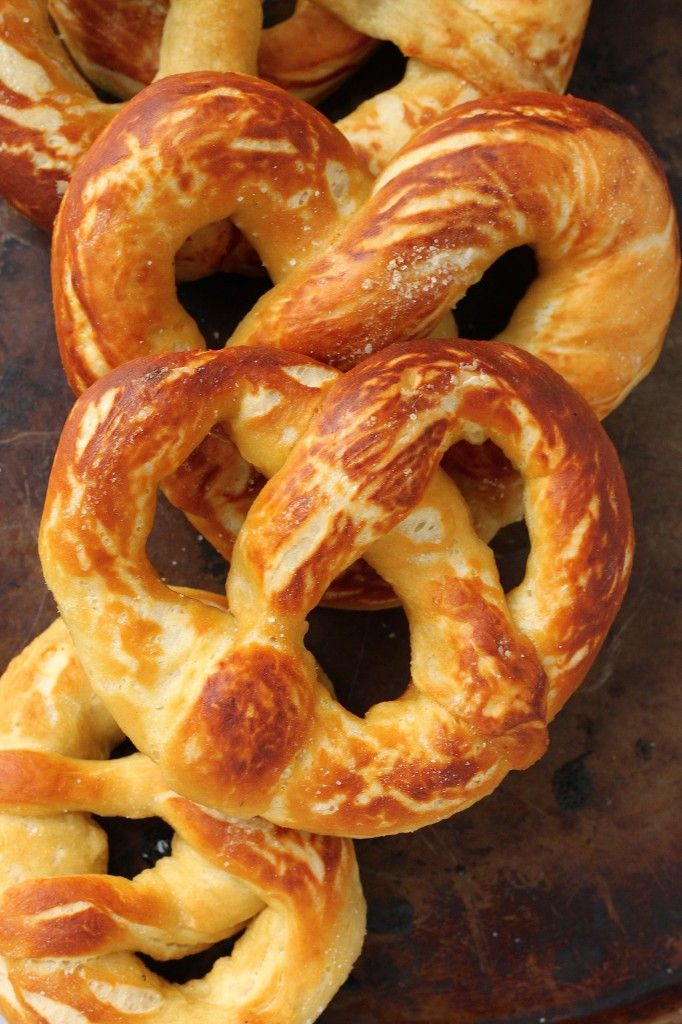 Perfectly Soft and Chewy Soft Pretzels