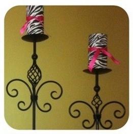 zebra decor for bathroom