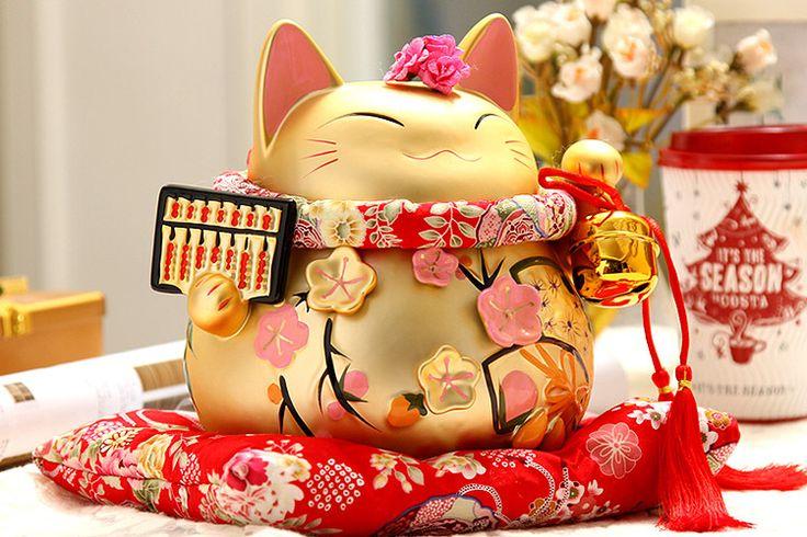 79 Best Beckoning Cat Beckons Images On Pinterest Maneki