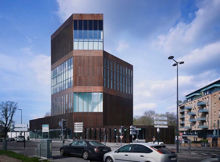 La torre Euravenir, rivestita in rame, ha ricevuto una menzione speciale al concorso Copper in Architecture 2015. #CopperAwards2015