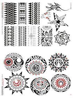Polynesian Tattoo Flash | Polynesian and Maori Tattoo Flash Book