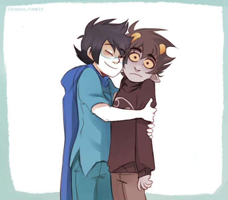 Can we take a moment to appreciate how adorable Karkat looks in this pic right now!!?