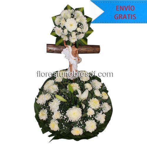Cristo funebre. Arreglos funebres para dar tus condolencias en ese ultimo adios. #ArreglosFunebresDF