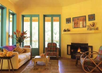 17 best images about yellow walls on pinterest wall - Painting options for a living room ...