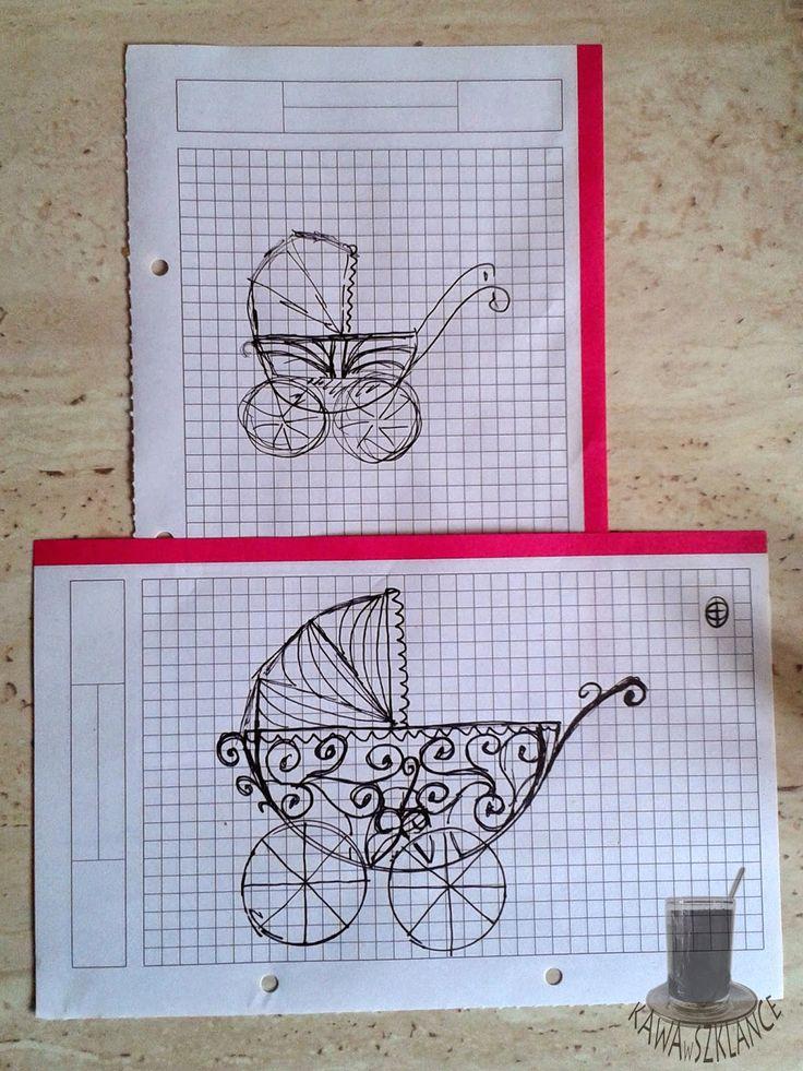 O moich pasjach kulinarnych dnia bieżącego i porywach dnia następnego: Kołyska / wózek z lukru królewskiego ( instrukcja wykonania)