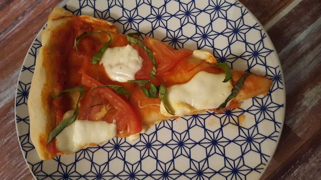 Margherita Pizza for National Pizza Month