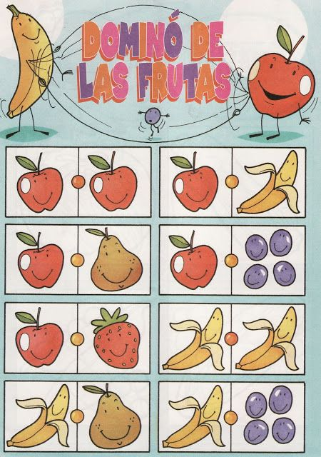 fruit domino 1 free printable