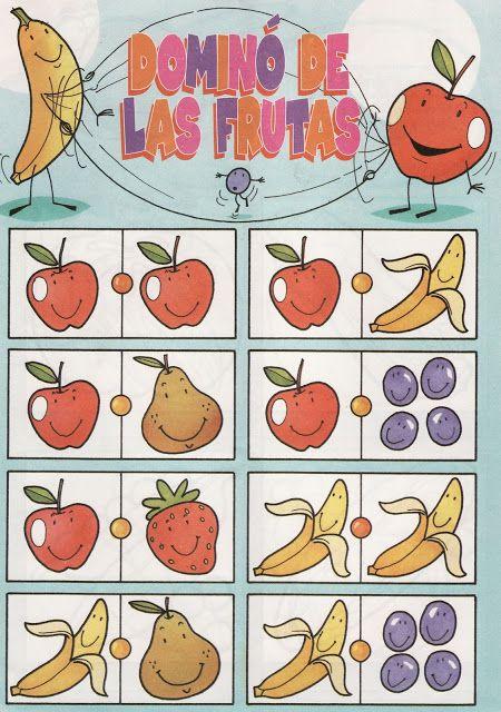 fruit domino 1 free printable