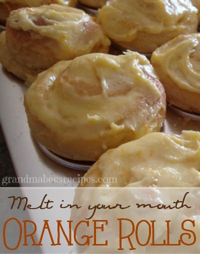 // // If I could choose anything in the world for breakfast, it would be these Orange Rolls. They are so soft and tender and literally melt in your mouth! This sweet roll dough recipe is versatil...