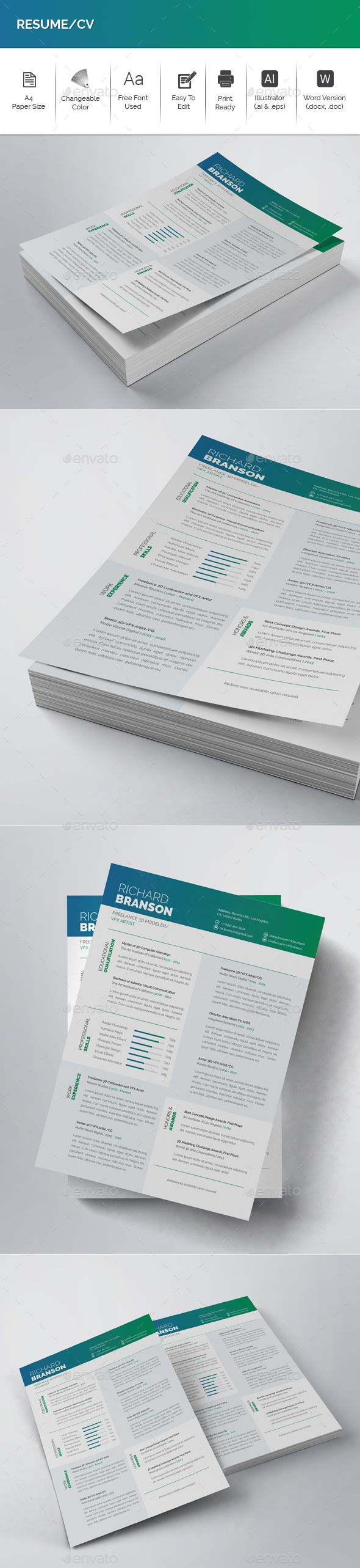 Cv Templates Design%0A Resume CV