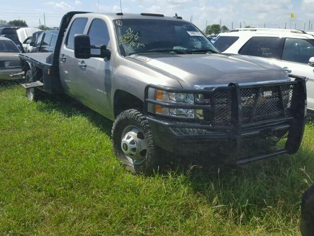 Salvage 2014 Chevrolet Silverado 3500 Hd