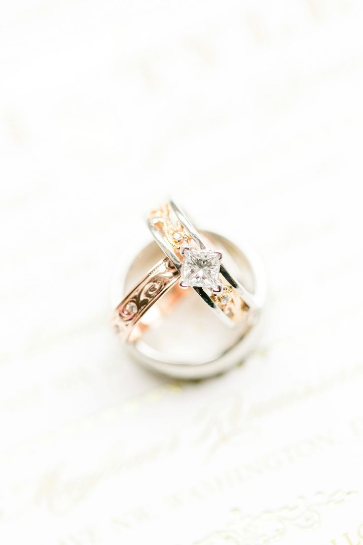 New Rose Gold Wedding Rings Mayflower Hotel Wedding Photos DC Pink u Gold Winter Wedding Megan Kelsey
