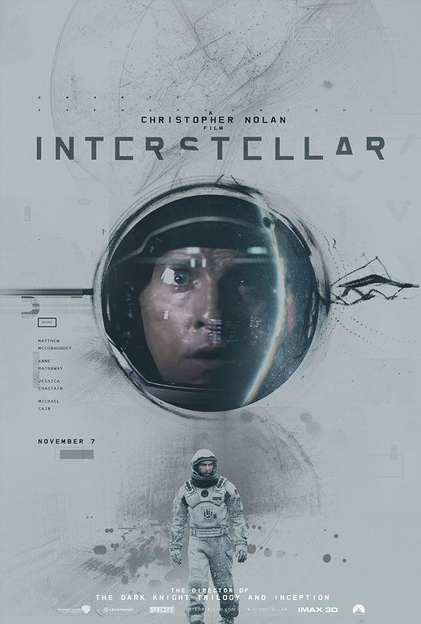 Gorgeous Alternative Posters Capture The Epic Plot Of 'Interstellar'