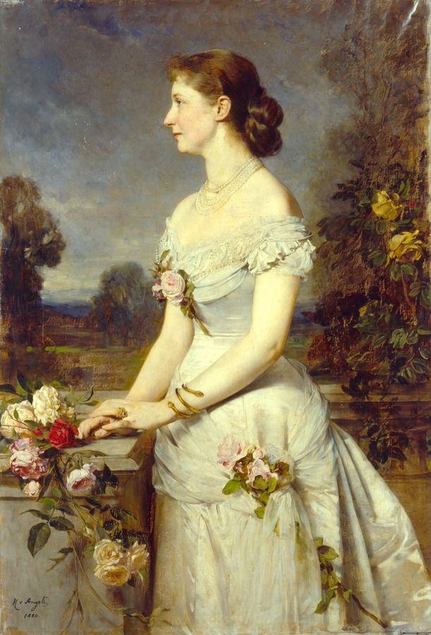 1880 Heinrich von Angeli - Augusta Victoria of Prussia