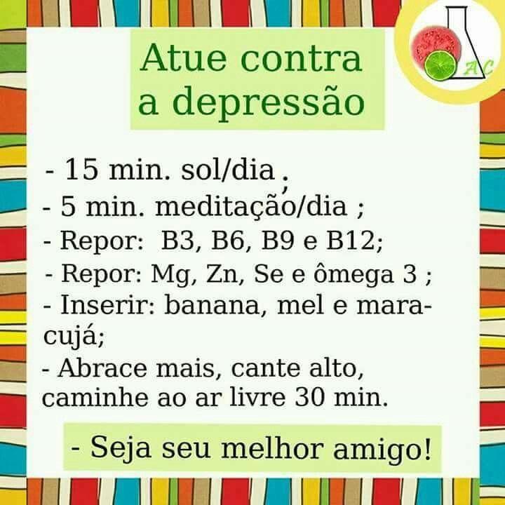 Contra a depressão