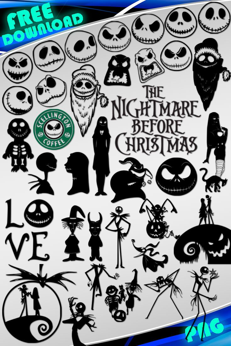 Pin by Nancy Wilson on Cricut Nightmare before christmas