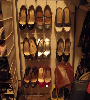 Reuse Madeline crib springs to store my shoes