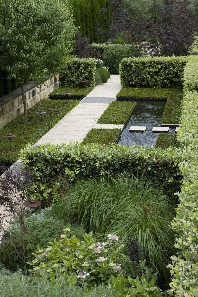 Simple pond.Garden by #peterfudge