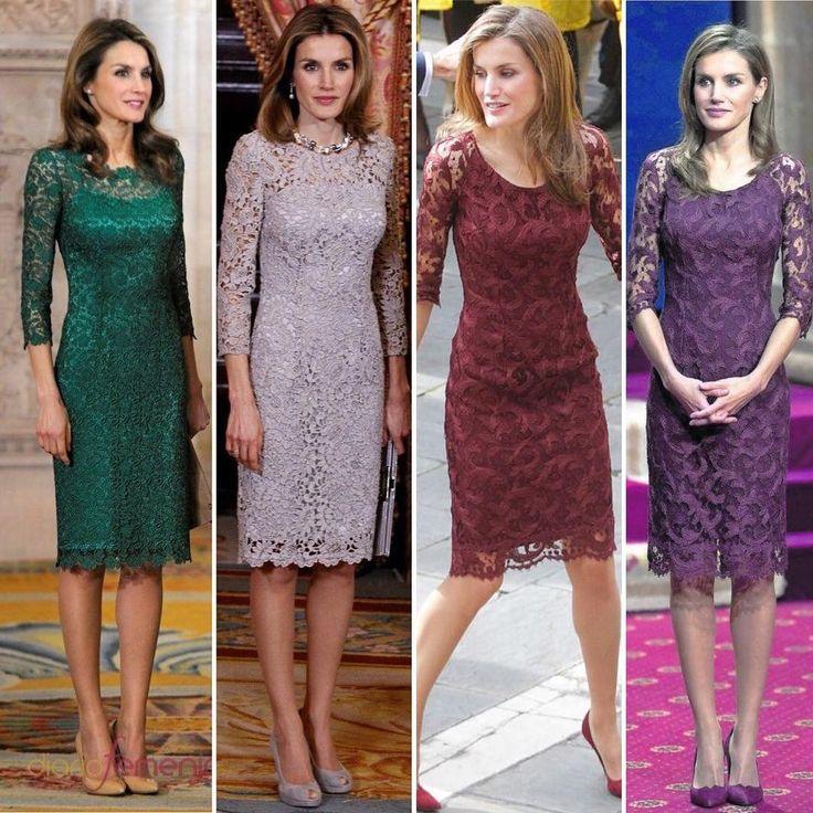 Os gustan estos vestidos? (última y penúltima foto son el mismo vestido, lo único que cambiaron el filtro de la foto y parece distinto, mil disculpas porque no me había fijado! Gracias a una compi que me lo ha chivado ) . . Do you like that dresses? (Three and four dress are the same, but the photo's filter has changed the color, Excuse Me! I didn't see) . . ..#Instamoment #reyesdeespaña #monarchy #doñaletizia #felipeyletizia #letizia #dress #felipevi #leonor #sofia ...