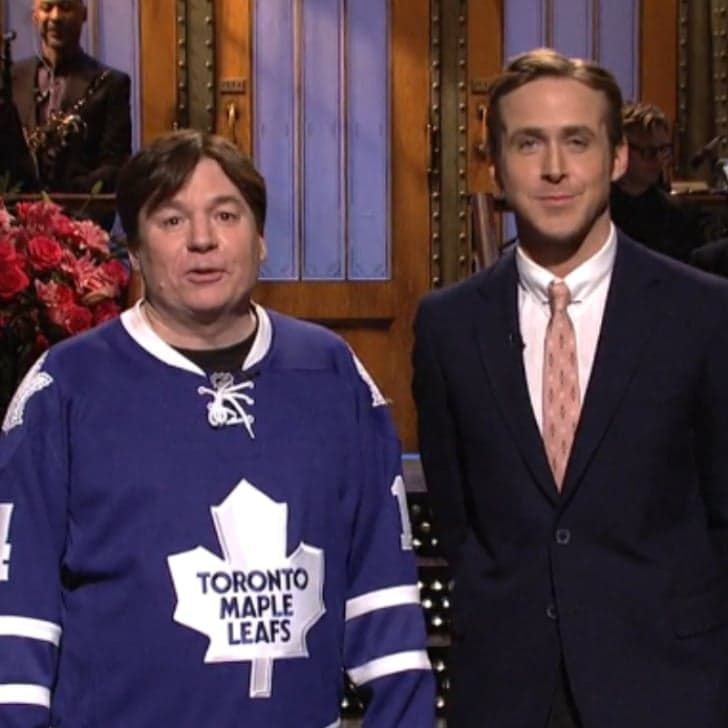 Mike Myers and Ryan Gosling's SNL Monologue Will Totally Fill You With Holiday Spirit