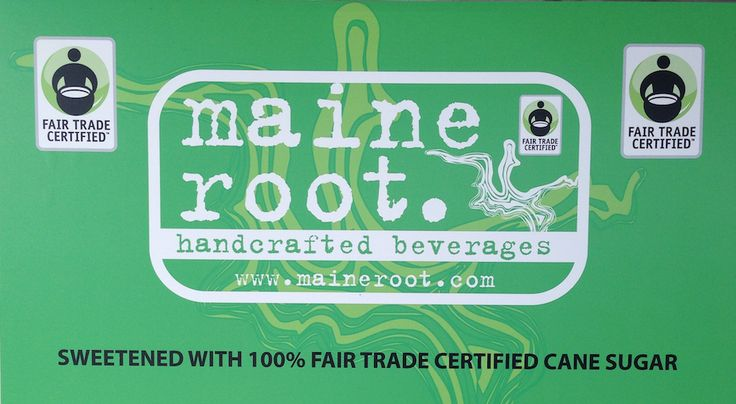 b.good offers Maine Root handcrafted beverages including: Blueberry Soda, Root Beer, Lemon-Lime, Mexicane Cola, Diet Mexicane Cola, and Raspberry Seltzer.