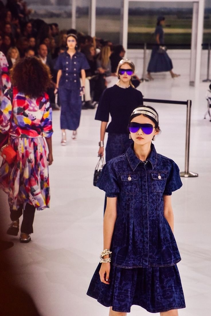 Chanel SS16 airport Karl Lagerfeld Spring Summer 2016 http://www.accentclothing.com/