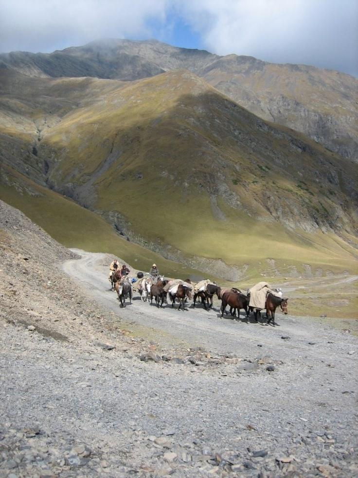 in Georgia in the Caucasus