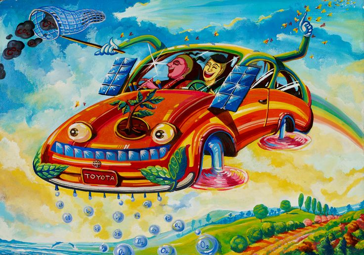 Eco-friendly Car - Panyawat Mahantapan | Toyota Dream Car Art Contest