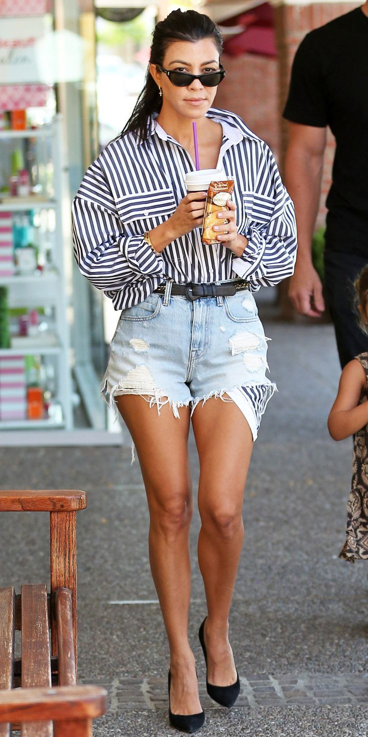 Look of the Day - Kourtney Kardashian from InStyle.com