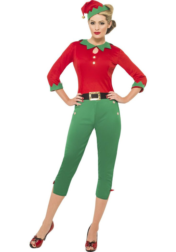 Ladies Santa Helper Costume, Ladies Elf Fancy Dress - Christmas Costumes at Escapade™ UK - Escapade Fancy Dress on Twitter: @Escapade_UK