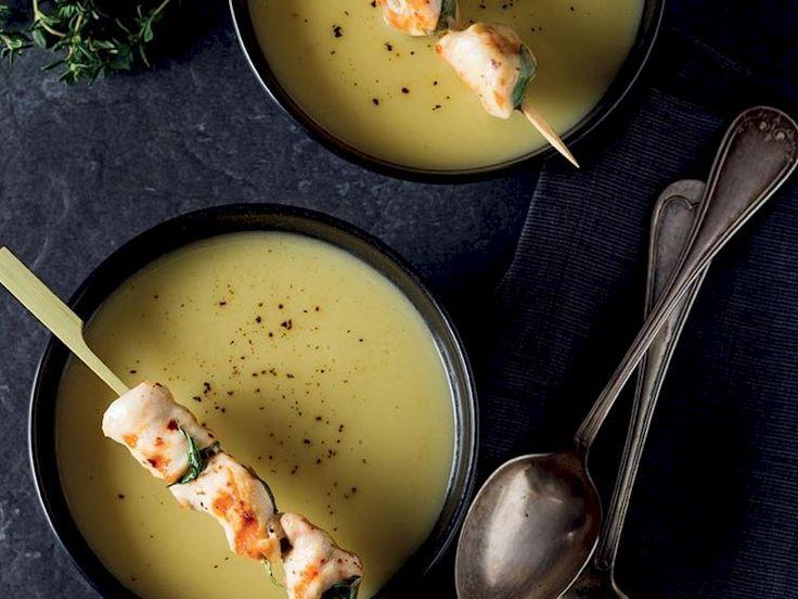 Pırasalı patates çorbası