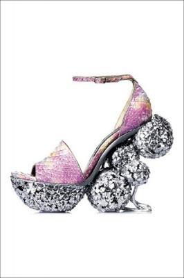 Unique shoe by Gaetano Perrone