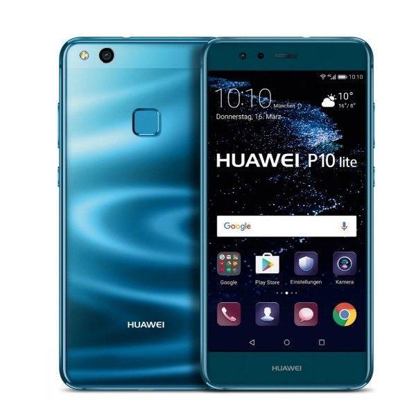 Brand New Huawei P10 Lite Was Tl10 64gb Dual Sim Factory Unlocked Blue Best Cell Phone Best Mobile Phone Best Smartphone