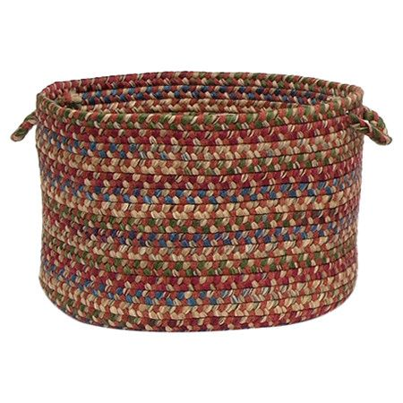 Iu0027ve Never Thought Of Braided Rugs As Baskets!