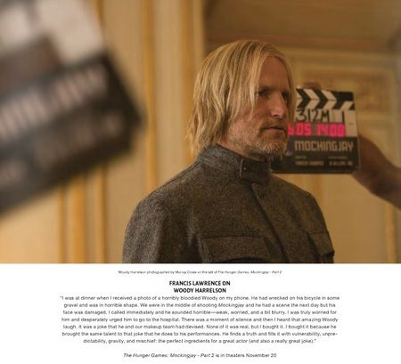New Still of Woody Harrelson in 'Mockingjay Part 2'