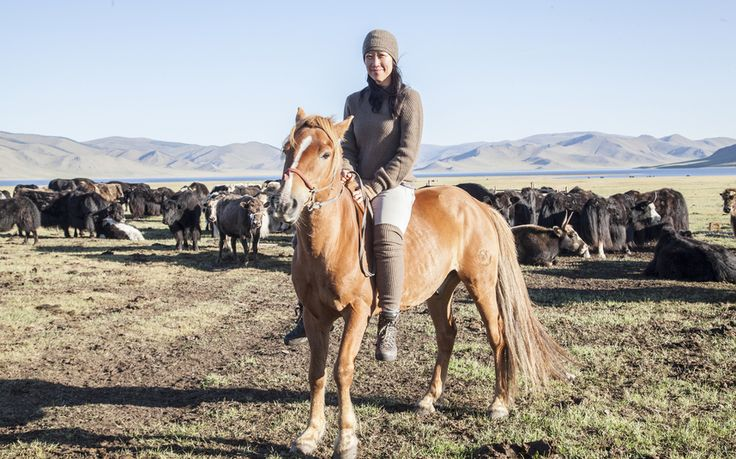 Social enterprise Tengri is championing Mongolian farmers by launching a range   of ethical woollens made from super-soft yak's wool