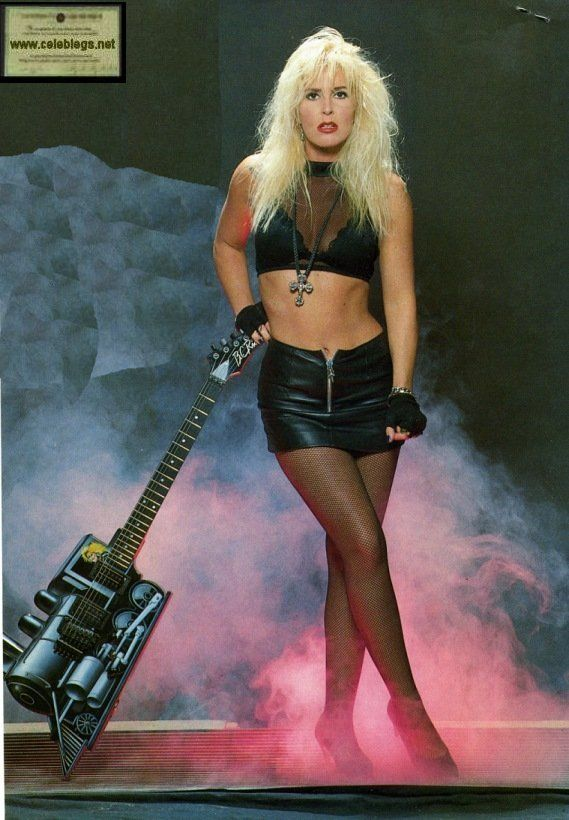 Lita Ford best girl guitarist!