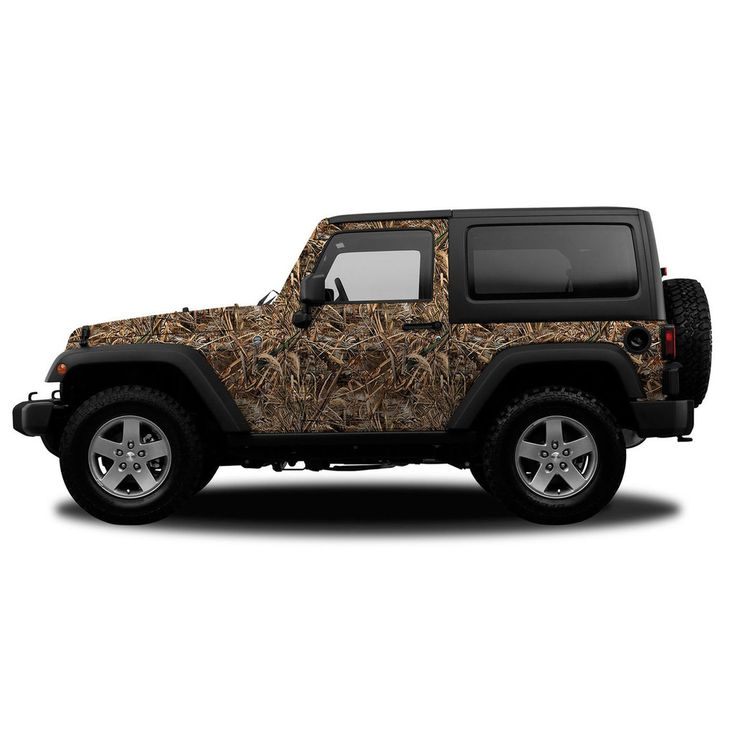 Realtree Camo Jeep/SUV Vehicle Wrap Max-5