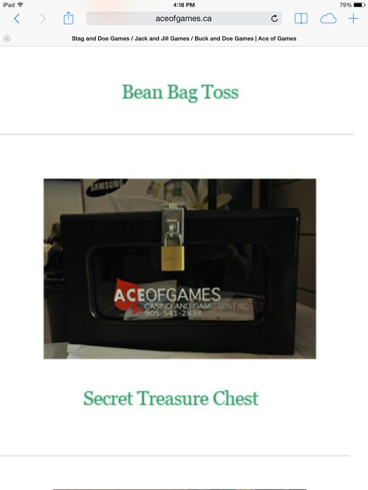 Secret Treasure Chest The Secret Treasure Chest is a great money maker! Take a nice prize and lock it in the box. You then sell keys to open the box (up to 150 keys) for anywhere from $1-$10 per key.Whichever key opens the treasure chest wins the prize inside. Alot of fun for you and your guests. $40 per/night