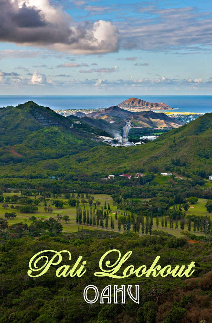 Pali Lookout, Oahu, Hawaii oahu hawaii lookoutpoint travel sightsee comevisit localdentist
