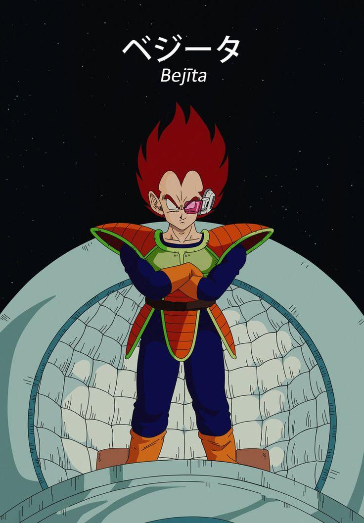 Dragon Ball Z 011: Vegeta by Dark-Crawler