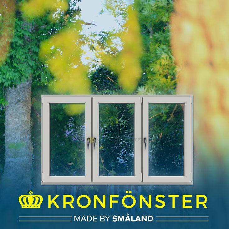 Fönster från Kronfönster - Made by Småland  Polaris: 3-luft PVC-fönster inåtgående, 3-glas energiglas ingår som standard  #PVCfönster #Superenergiglas #fönster #Polaris #Kronfönster  Läs mer » https://goo.gl/5jB4AU
