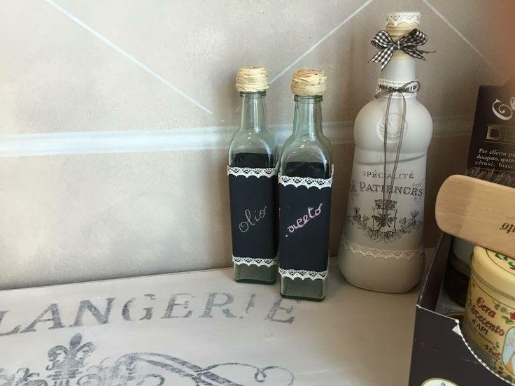 Bottiglie eff.lavagna
