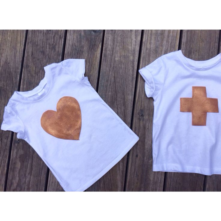limited edition ➕one 'mini copper-love' girl's tee + 'mini copper-plus' boys (unisex) tee designed + individually hand-painted  by Claire Webber using eco friendly water based metallic fabric paints. 100% cotton.  size 1 - 7.  Claire Webber, Hobart, Tasmania webberclaire1@gmail.com