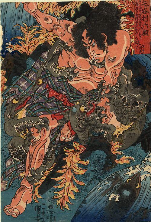Kuniyoshi: Kappa