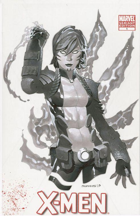 Cool Set of Marvel Character Sketch CoverArt - Skullkickers artist Chris Stevens