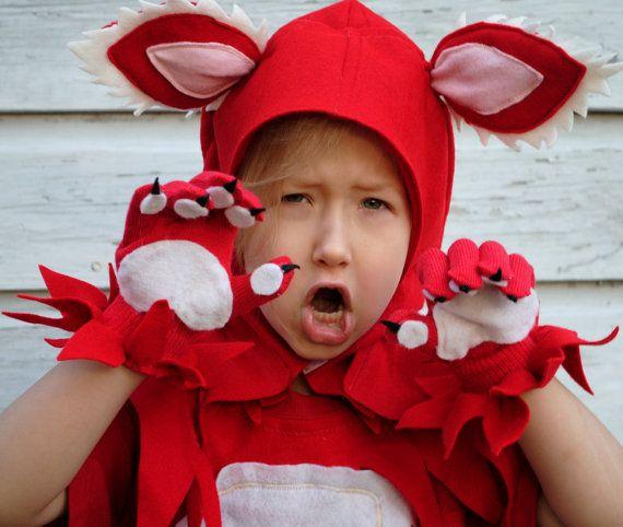Roxy Fox Custom Handmade Child Costume by artstylefashion