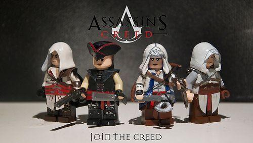 Assassins Creed Custom Minifigures
