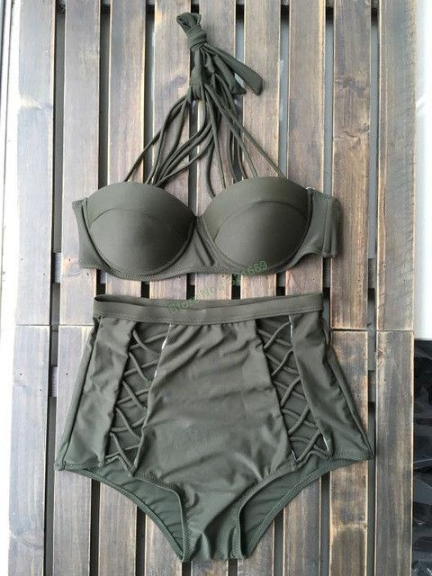 Item Type: Bikinis Set Gender: Women Pattern Type: Solid Brand Name: Hibkn Waist: High Waist Support Type: Underwire Fit: Fits smaller than usual. Please check this store's sizing info Material: Spand